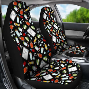 Pharmacist - Car Seat Covers (Set of 2) Universal Fit - CarInspirations