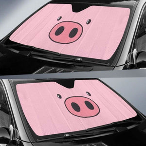 Pig Face Auto Sun Shades 918b Universal Fit - CarInspirations