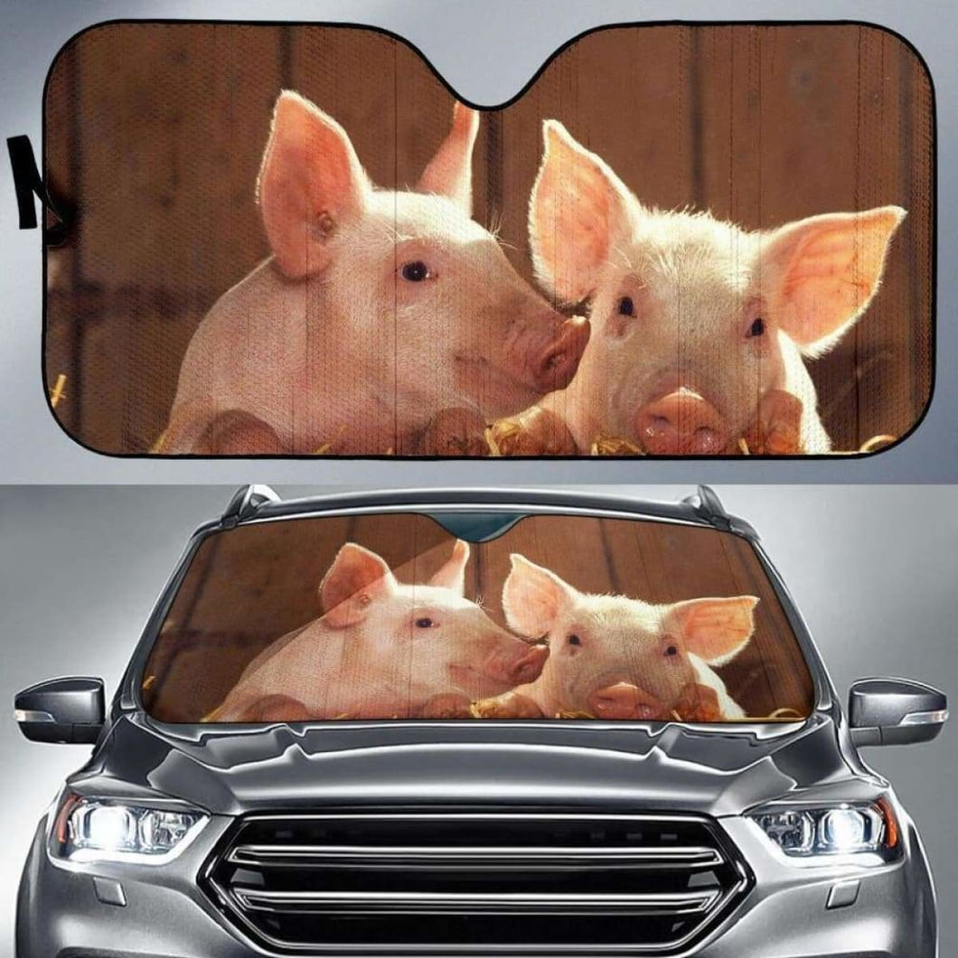 Pig Love Auto Sun Shades 918b Universal Fit - CarInspirations
