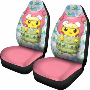 Pikachu Car Seat Covers Universal Fit 051312 - CarInspirations