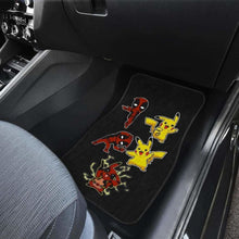 Load image into Gallery viewer, Pikapool Funny Custom In Black Theme Car Floor Mats Universal Fit 051012 - CarInspirations