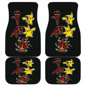 Pikapool Funny Custom In Black Theme Car Floor Mats Universal Fit 051012 - CarInspirations
