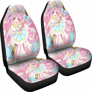 Pink Girl Car Seat Covers Universal Fit 051012 - CarInspirations