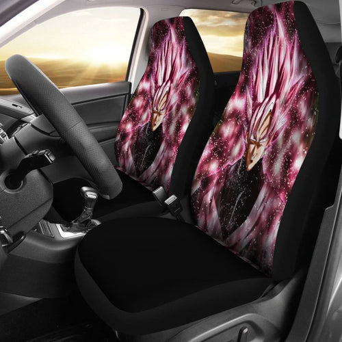 Pink Vegeta Dragon Ball Seat Covers Amazing Best Gift Ideas 2020 Universal Fit 090505 - CarInspirations