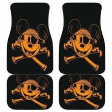 Load image into Gallery viewer, Pirates Of The Caribbean Mice Logo Car Floor Mats Universal Fit 051012 - CarInspirations