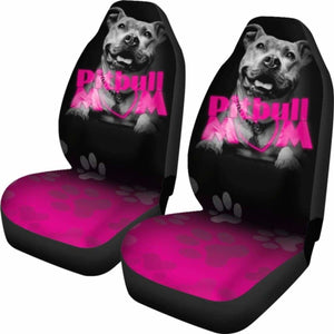 Pit Bull Mom Car Seat Covers 231303 Universal Fit - CarInspirations