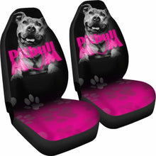 Load image into Gallery viewer, Pit Bull Mom Car Seat Covers 231303 Universal Fit - CarInspirations