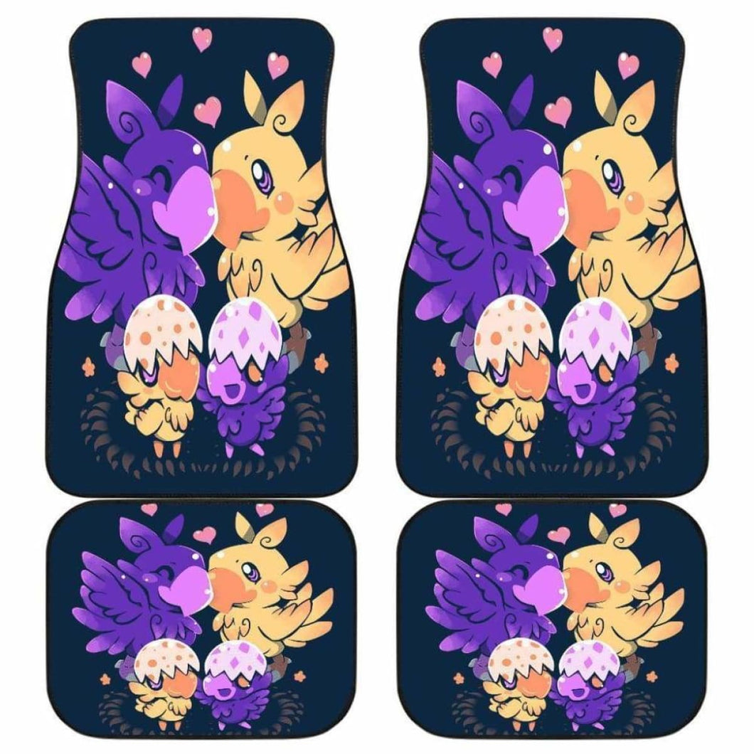Pokemon Art Funny Anime Car Floor Mats Universal Fit 051012 - CarInspirations