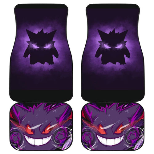 Pokemon Gengar Car Floor Mats Nh07 Set 4 Universal Fit 111204 - CarInspirations