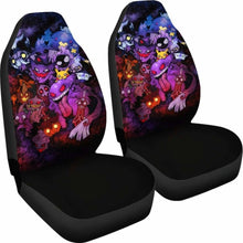 Load image into Gallery viewer, Pokemon Ghost Car Seat Covers 2 Universal Fit 051012 - CarInspirations