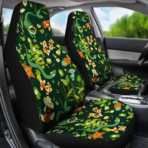 Pokemon Grass Car Seat Covers Universal Fit 051012 - CarInspirations
