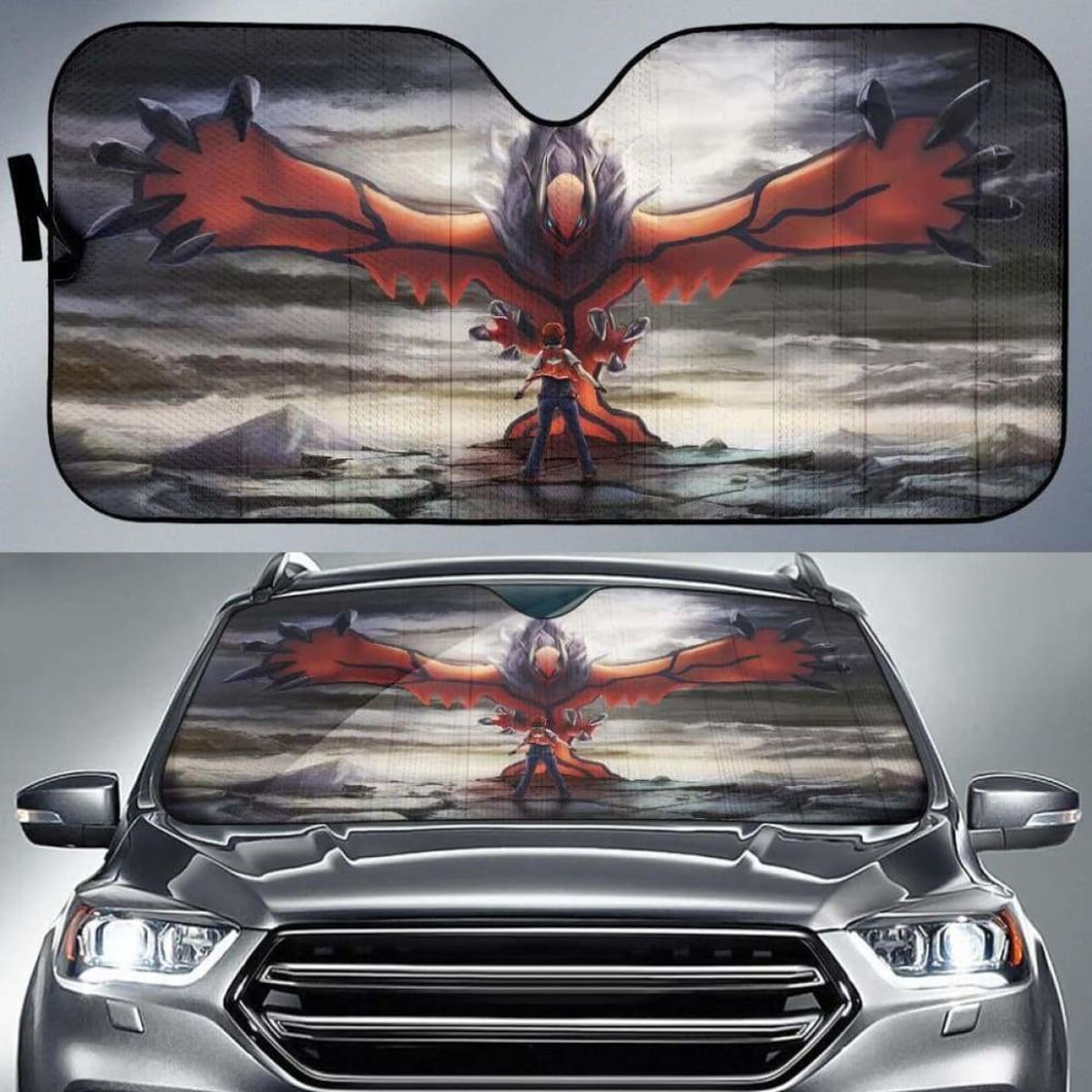 Pokemon Y Car Sun Shades 918b Universal Fit - CarInspirations