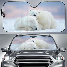 Load image into Gallery viewer, Polar Bear Car Sun Shades 918b Universal Fit - CarInspirations