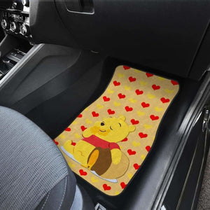 Pooh Eating Honey Car Floor Mats Universal Fit 051012 - CarInspirations