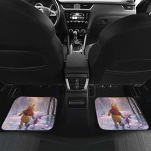 Load image into Gallery viewer, Pooh & Winnie Playing In Winter Car Floor Mats Universal Fit 051012 - CarInspirations