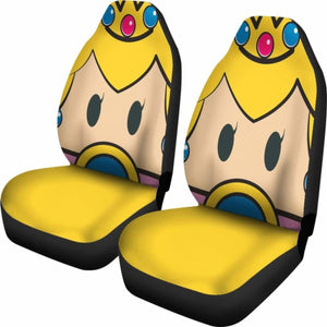 Princess Mario Car Seat Covers Universal Fit 051012 - CarInspirations