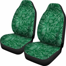 Load image into Gallery viewer, Product Science Teacher Car Seat Covers 100421 Universal Fit - CarInspirations