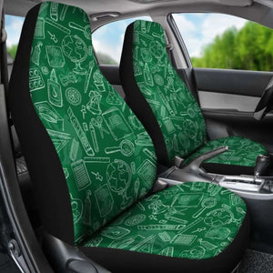 Product Science Teacher Car Seat Covers 100421 Universal Fit - CarInspirations