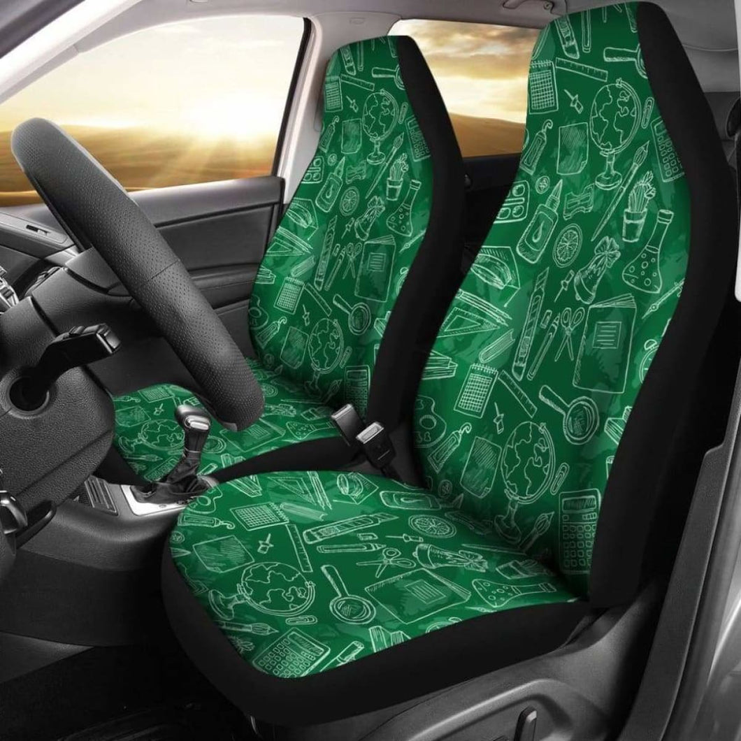 Product Science Teacher Patterns Math Car Seat Covers Universal Fit 051012 - CarInspirations