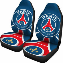 Load image into Gallery viewer, PSG Paris Saint-Germain Car Seat Covers 100421 Universal Fit - CarInspirations