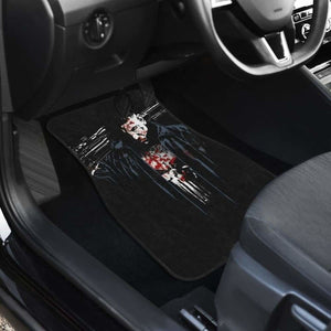Punisher The Soldier Bloody Art Car Floor Mats Universal Fit 051012 - CarInspirations
