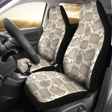 Load image into Gallery viewer, Pusheen Car Seat Covers Universal Fit 051012 - CarInspirations
