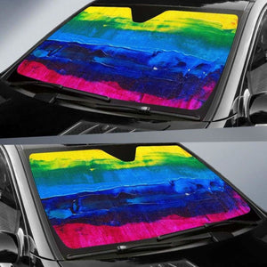 Rainbow Car Auto Sun Shade 211626 Universal Fit - CarInspirations