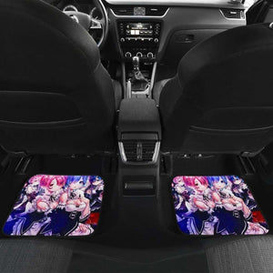 Ram And Rem Re Zero Anime Car Floor Mats Universal Fit 051012 - CarInspirations