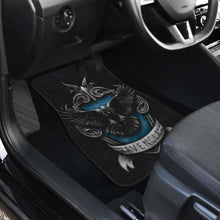 Load image into Gallery viewer, Ravenclaw 3D Logo In Black Theme Car Floor Mats Universal Fit 051012 - CarInspirations