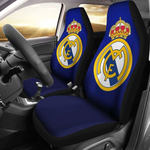 Real Madrid Car Seat Covers 100421 Universal Fit - CarInspirations