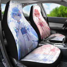 Load image into Gallery viewer, Rem And Ram Re:Zero Starting Life In Another World Car Seat Covers Universal Fit 051012 - CarInspirations