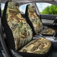 Load image into Gallery viewer, Reptiles Car Seat Cover 234929 Universal Fit - CarInspirations