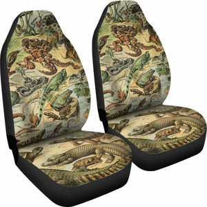 Reptiles Car Seat Cover 234929 Universal Fit - CarInspirations