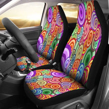 Load image into Gallery viewer, Retro Car Seat Covers 100421 Universal Fit - CarInspirations