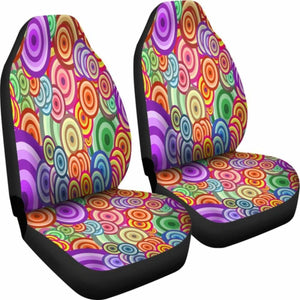 Retro Car Seat Covers 100421 Universal Fit - CarInspirations
