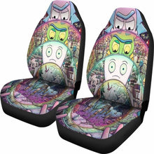 Load image into Gallery viewer, Rick And Morty Car Seat Covers 1 Universal Fit 051012 - CarInspirations