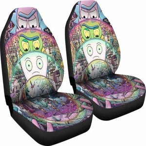 Rick And Morty Car Seat Covers 1 Universal Fit 051012 - CarInspirations