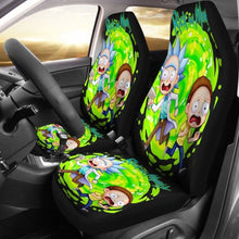 Load image into Gallery viewer, Rick And Morty Car Seat Covers 4 Universal Fit 051012 - CarInspirations
