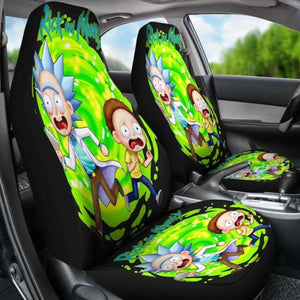 Rick And Morty Car Seat Covers 4 Universal Fit 051012 - CarInspirations