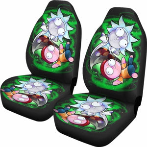 Rick And Morty Chibi Style Car Seat Covers Universal Fit 051012 - CarInspirations