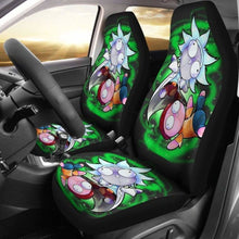 Load image into Gallery viewer, Rick And Morty Chibi Style Car Seat Covers Universal Fit 051012 - CarInspirations