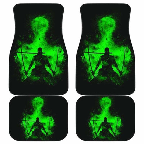 Roronoa Zoro One Piece Car Floor Mats Universal Fit 051912 - CarInspirations