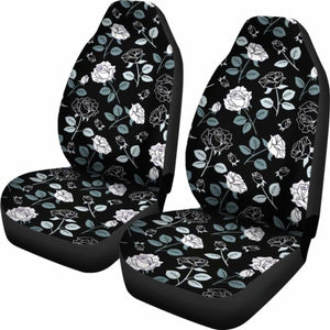 Rose Car Seat Covers Universal Fit 051012 - CarInspirations