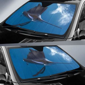 Sailfish Car Auto Sun Shade 211626 Universal Fit - CarInspirations