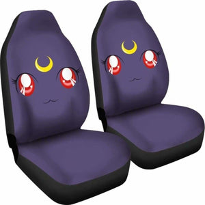Sailor Moon Luna Car Seat Covers Universal Fit 051012 - CarInspirations