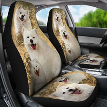 Load image into Gallery viewer, Samoyed Dogs Pets Animals Car Seat Covers Universal Fit 051012 - CarInspirations
