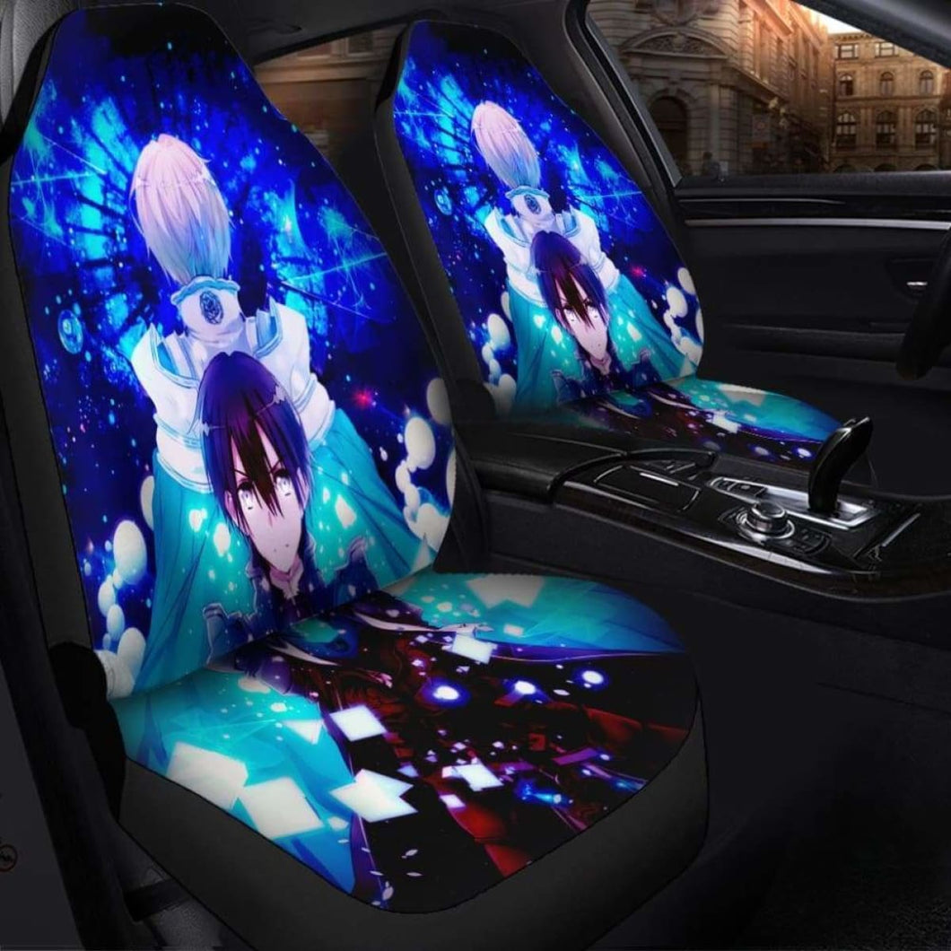 SAO Anime Seat Covers 101719 Universal Fit - CarInspirations