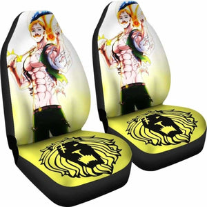 Seven Deadly Sins Escanor Car Seat Covers Universal Fit 051012 - CarInspirations