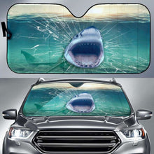 Load image into Gallery viewer, Shark 3d Car Sun Shades 918b Universal Fit - CarInspirations