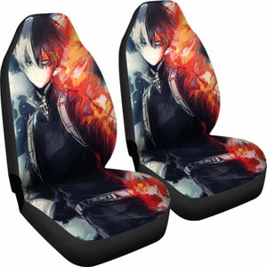 Shouto Todoroki Car Seat Covers 1 Universal Fit 051012 - CarInspirations